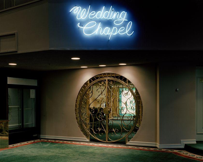 The Neon Chapel © Jane Hilton