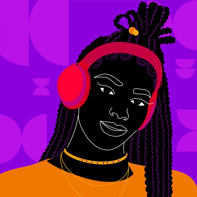 Black History Playlist for Code Switch © Aurélia Durand