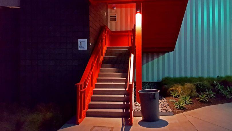 Robert Ballantyne, Los Angeles, United States, Red Stairway © Robert Ballantyne, 2017