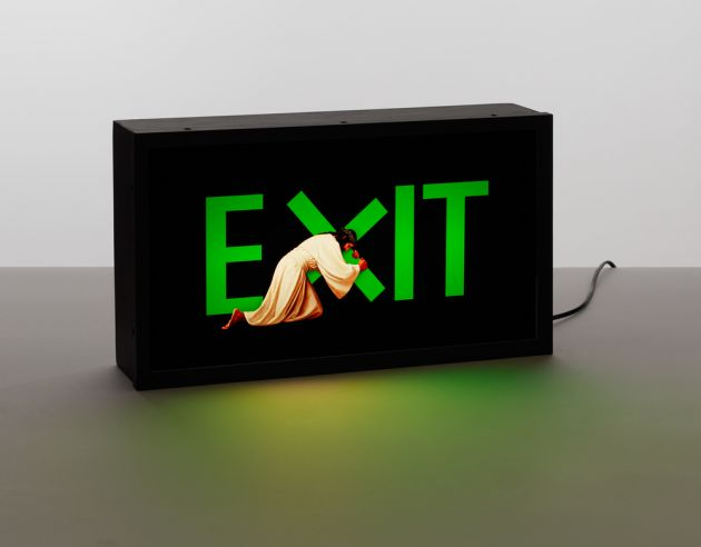 Exit Jesus © Nancy Fouts. All images courtesy of the artist and Hang-Up Gallery