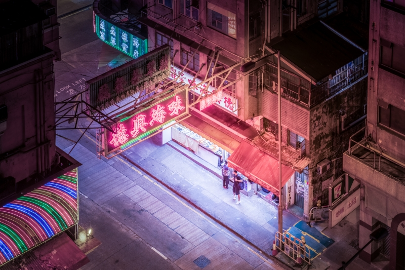 Courtesy Car City >> Cyberpunk inspired, ultraviolet photography of Hong Kong, Shenzhen and Seoul at midnight ...