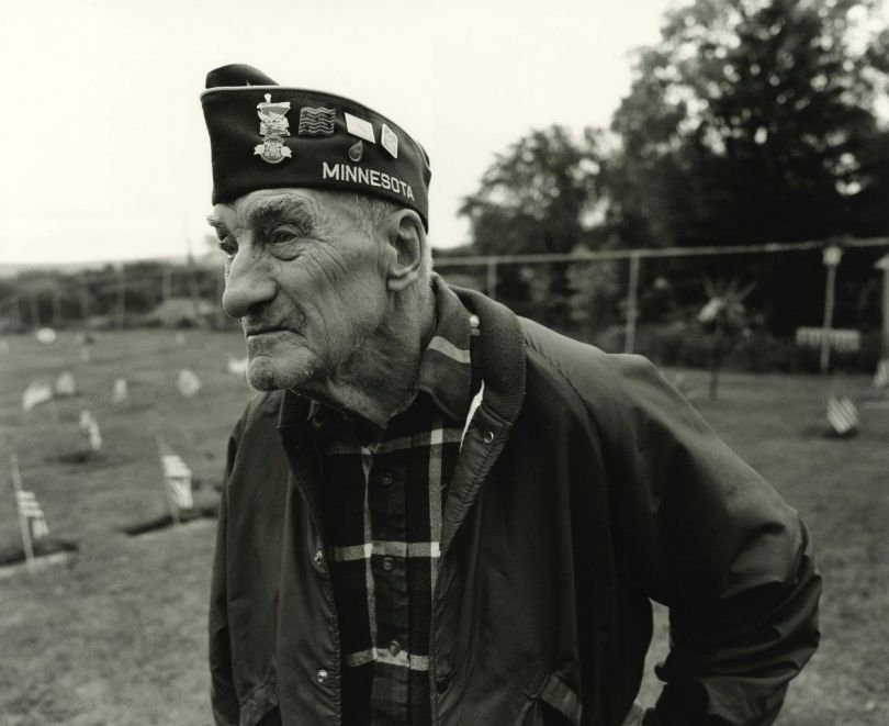 World War II Veteran, Memorial Day Parade, West St. Paul, Minnesota, 2015 | Images copyright Tom Arndt, courtesy Howard Greenberg Gallery