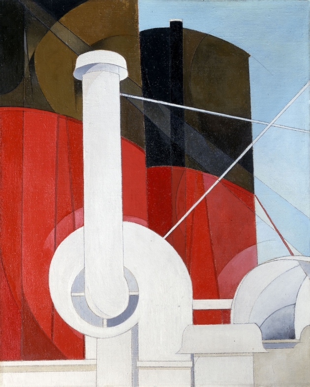 Paquebot Paris Charles Demuth United States 1921 -22. Gift of Ferdinand Howald © Columbus Museum of Art Ohio