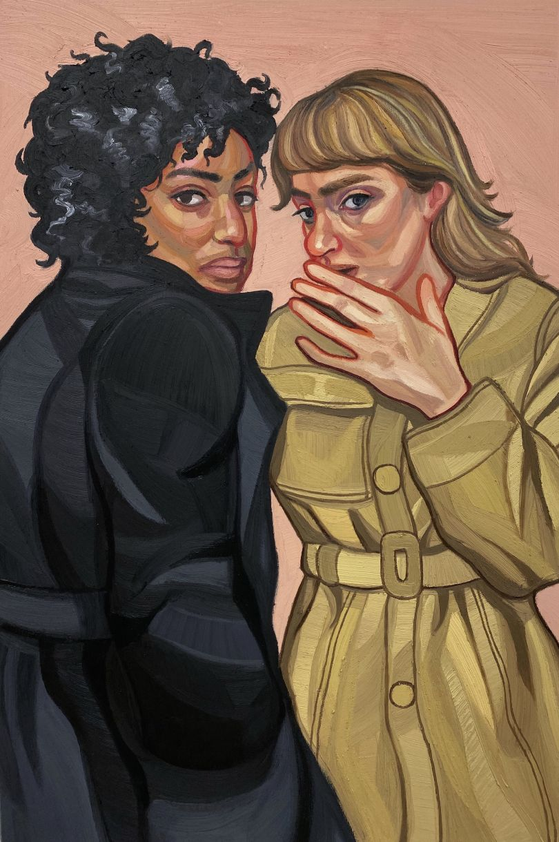 Gut Instinct, 64 x 95cm, oil of canvas © Ania Hobson