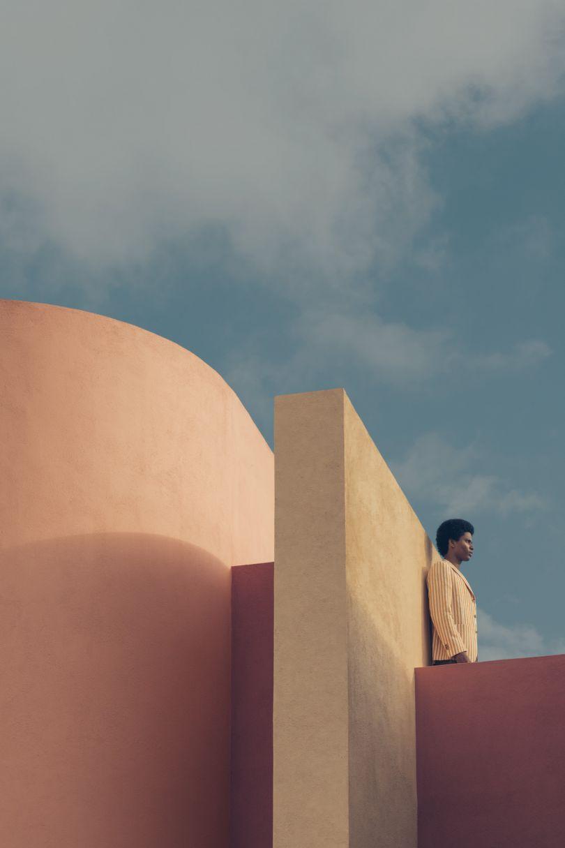 Rafael wears a jacket by De Fursac. Photography by Romain Laprade for Kinfolk Magazine