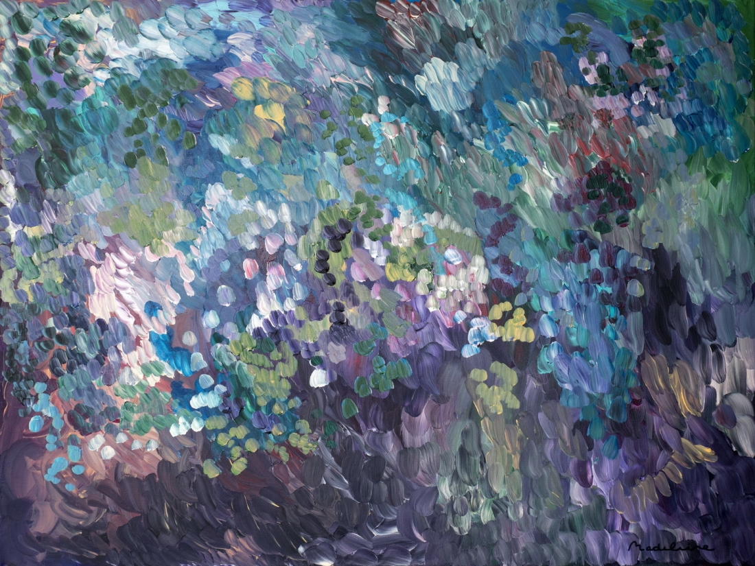 Abstract Paintings By Boulder Artist Madeline Norton That
