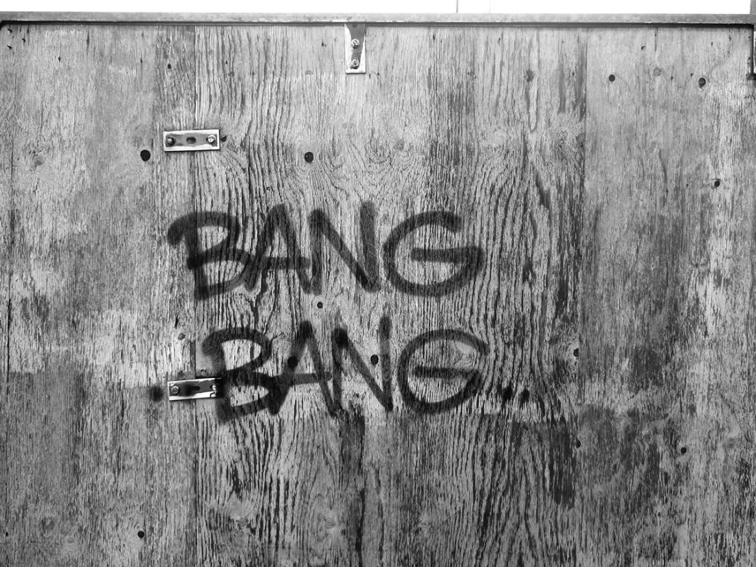 Bang Bang Graffiti, Berlin/Germany, 2010  Bang Bang Graffiti, Berlin/Germany, 2010 © Ed Broner