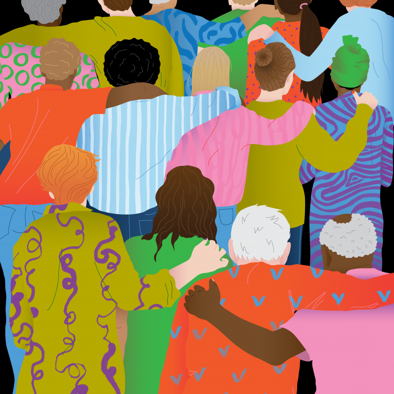 Editorial illustration for The New York Times by Hélène Baum-Owoyele