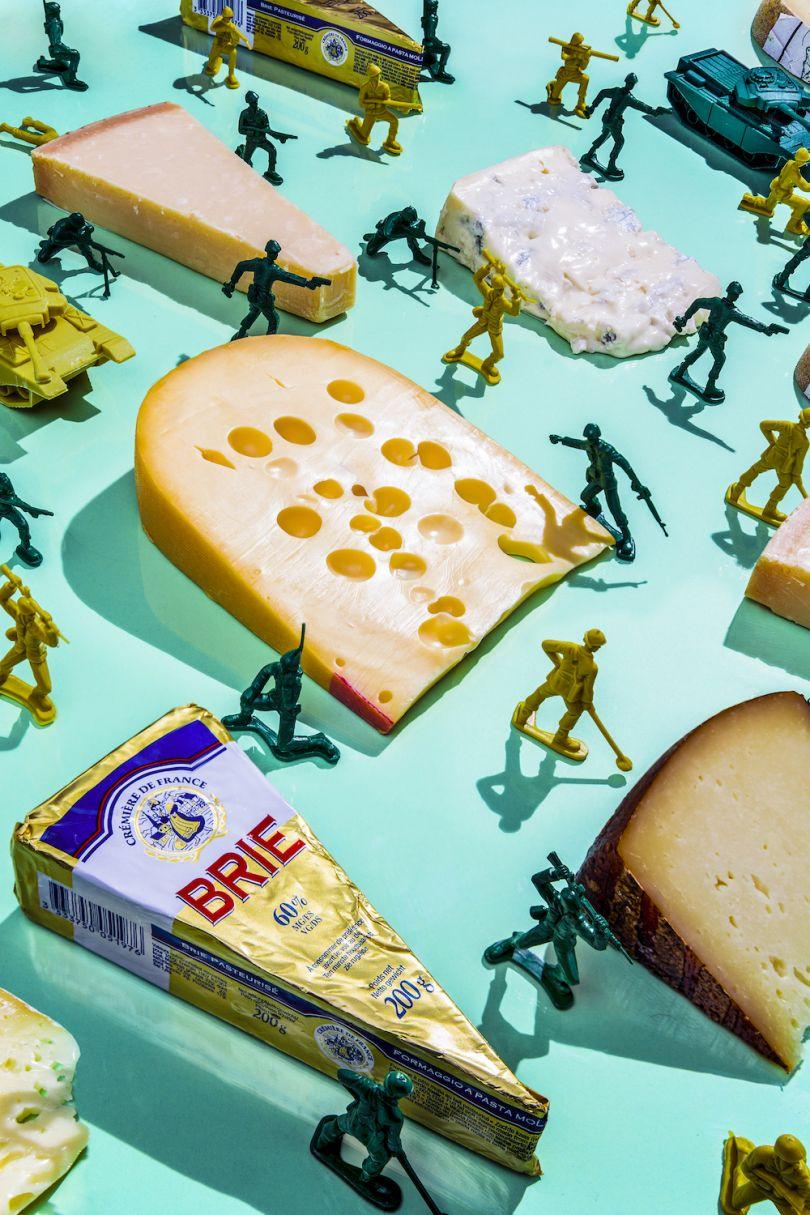Kim Jong-Un / Emmental and French Cheese - © Dan Bannino
