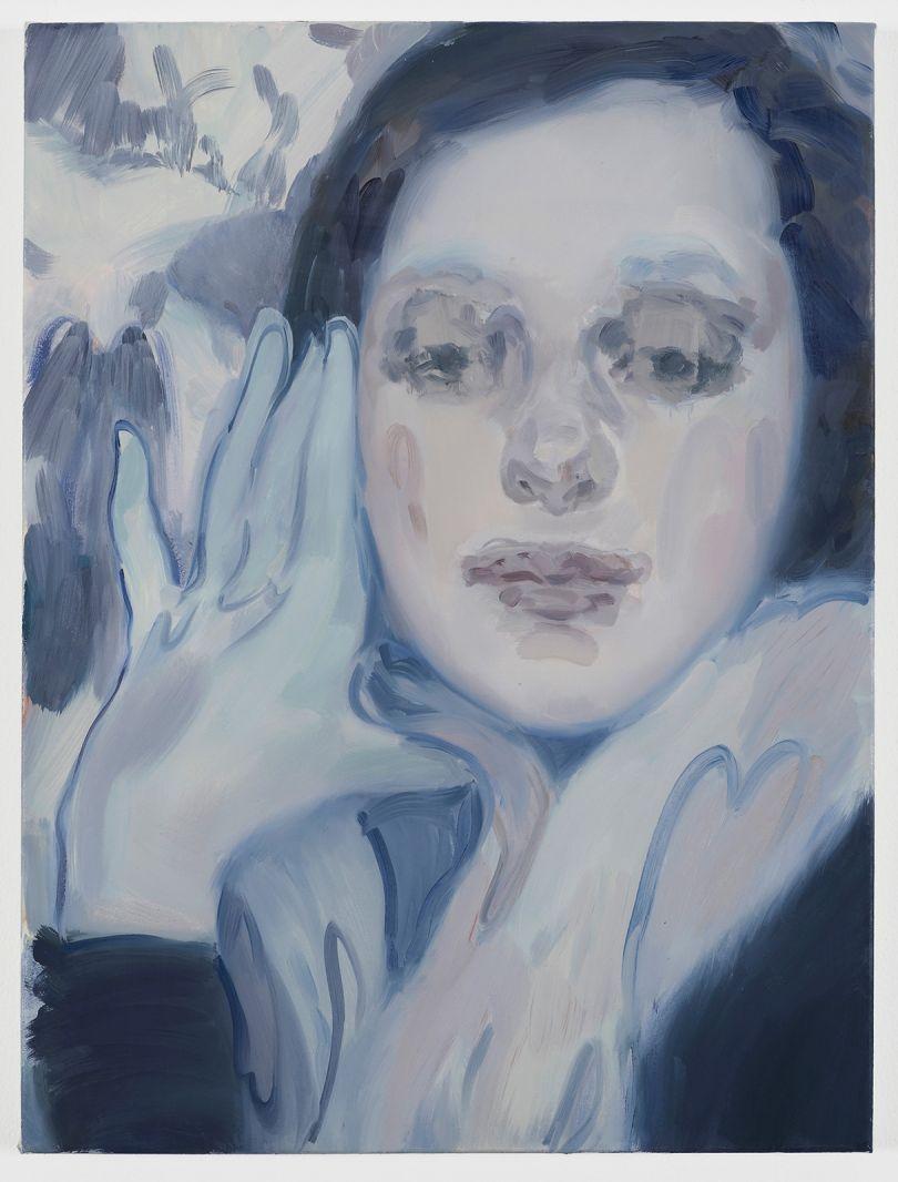 Kaye Donachie I that know you, 2018 oil on linen 61 x 46 cm © Kaye Donachie, courtesy Maureen Paley, London