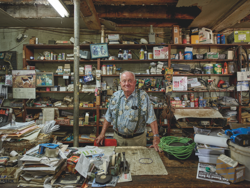 Alvin G. Stone at His Store, Pine Apple © Andrew Moore, from Blue Alabama