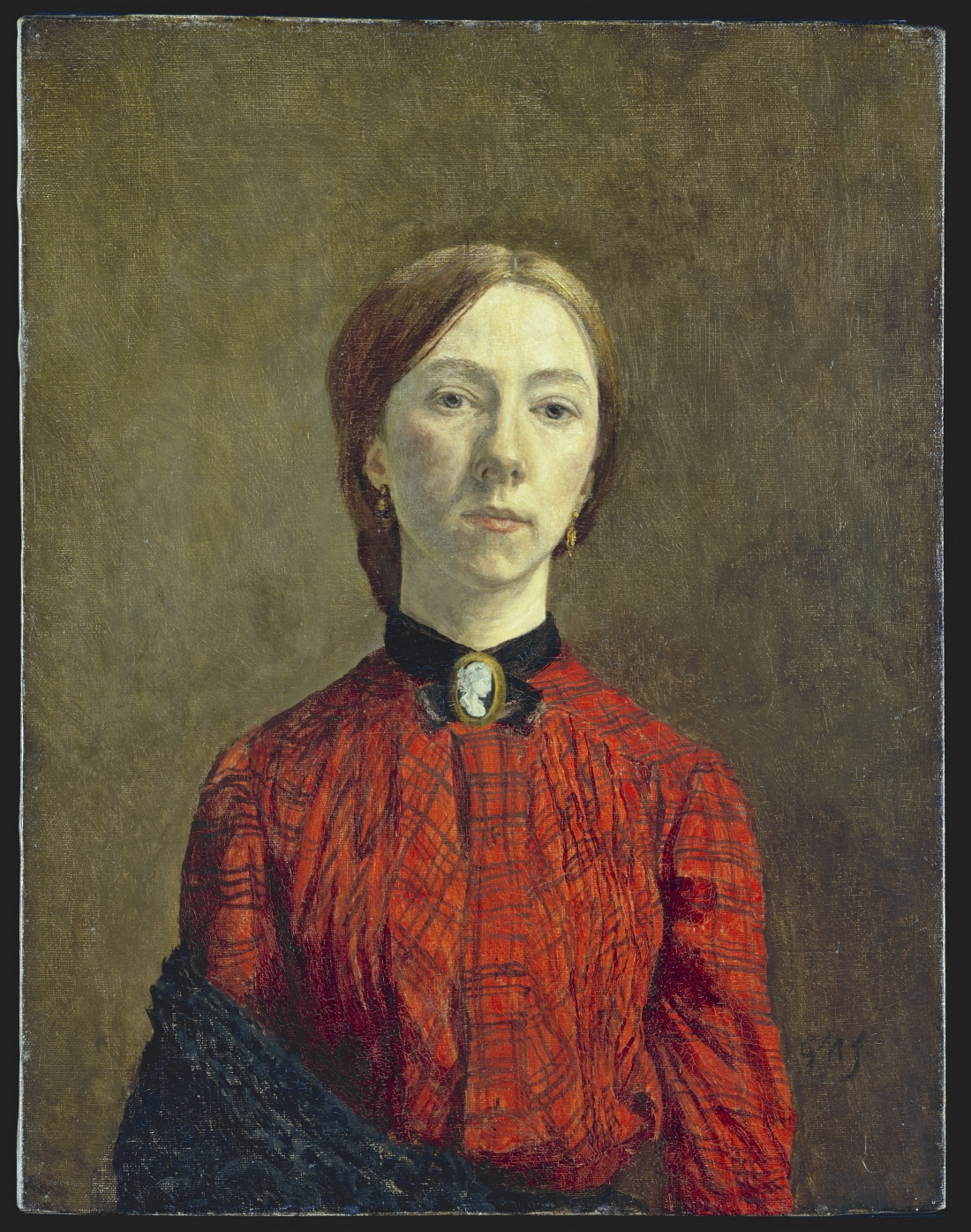 Gwen John, Self-portrait, 1902, oil on canvas Tate. Purchased 1942 © Tate, London 2018