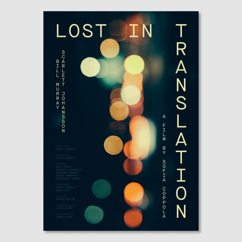 Director, Sofia Coppola © Double Bill Posters, 2021