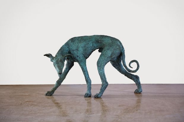 ROBBER, bronze, photo by Tania Dolvers, courtesy of Hignell Gallery
