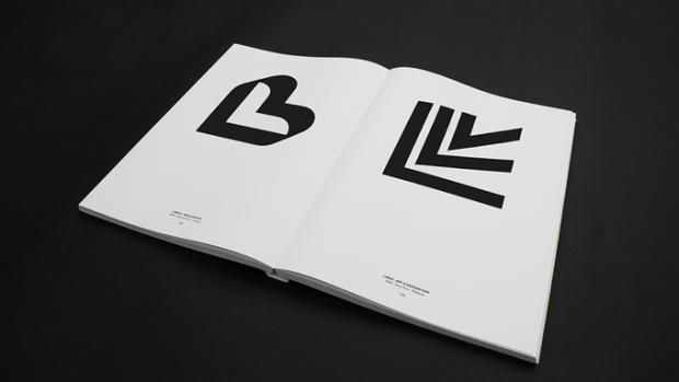 Letters as Symbols book spread