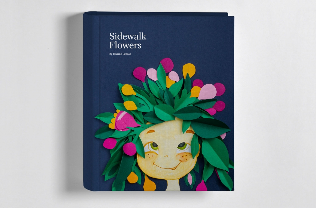 18 inspiring handmade book covers created by graphic design ...