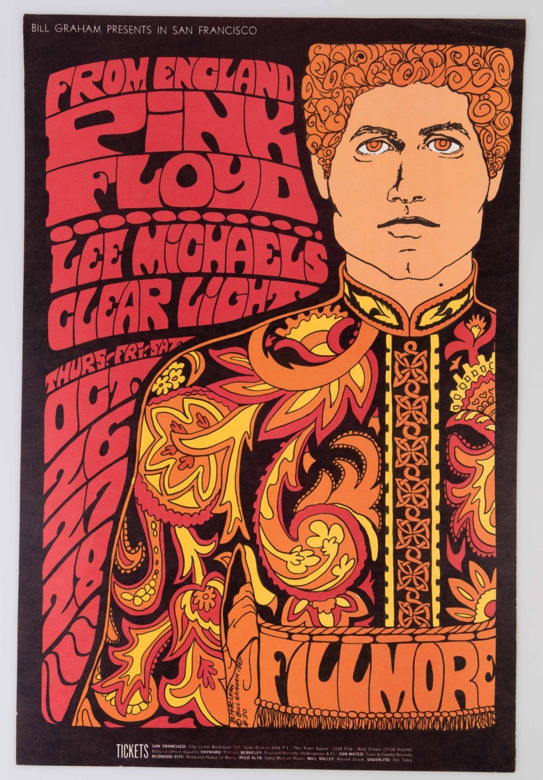 Pink Floyd. Vintage one off, £450.