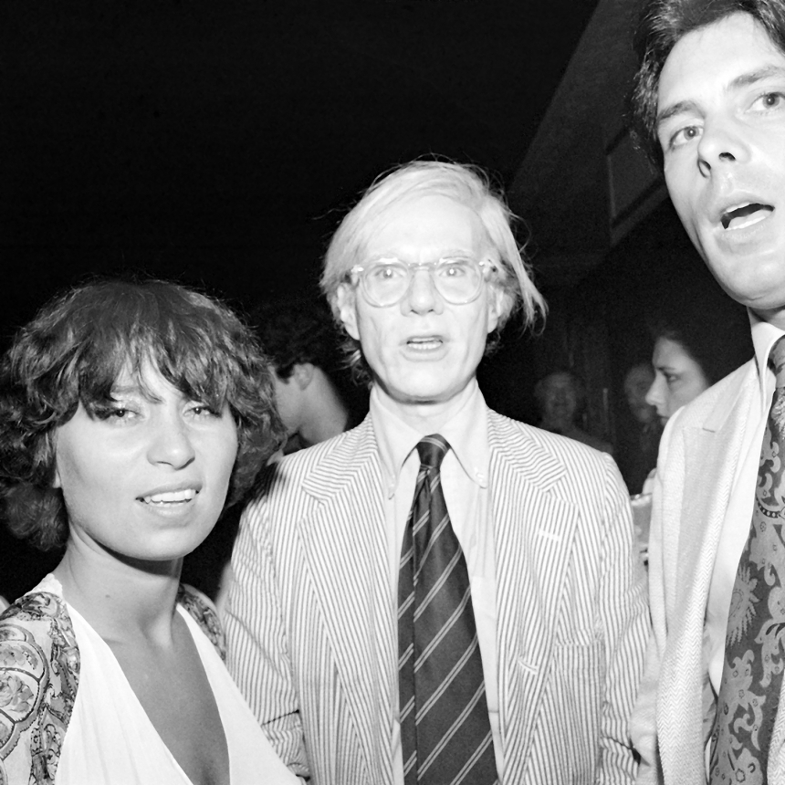 Judith, Andy Warhol & Friends with Open Mouths, Studio 54 NY, June 1979 ©Meryl Meisler
