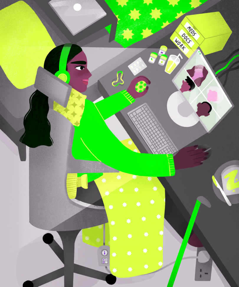 Illustration for Refinery29 © Ananya Rao-Middleton