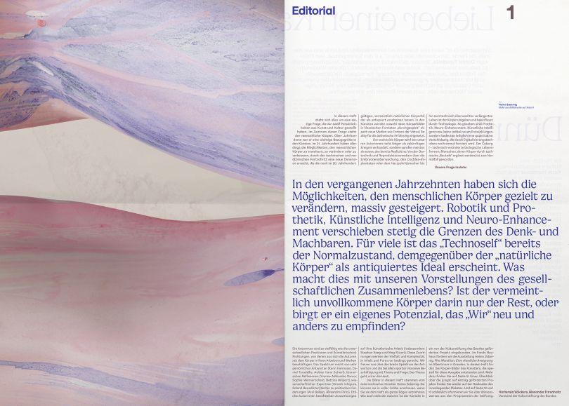 Bureau Est, kulturstiftung des bundes - issue 32, 2019