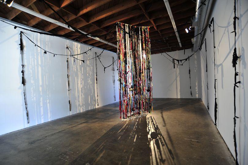 John Outterbridge Rag Factory IV, 2017   Courtesy the artist; Tilton Gallery, New York; LAXART, Los Angeles; and David Zwirner, London
