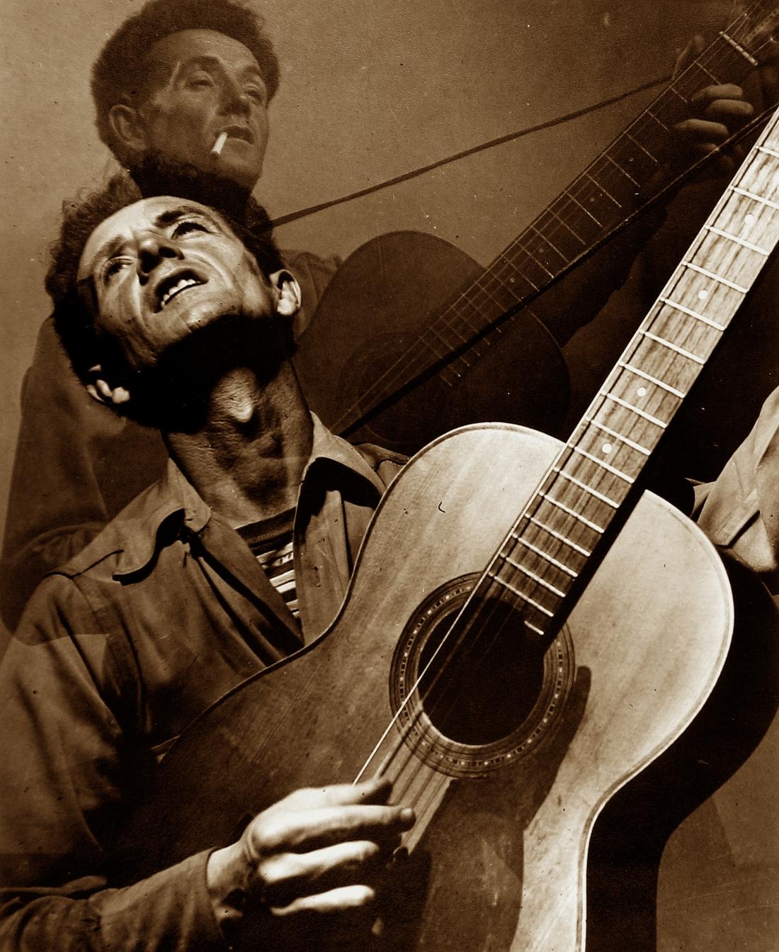 Sid Grossman, Woody Guthrie, c.1948