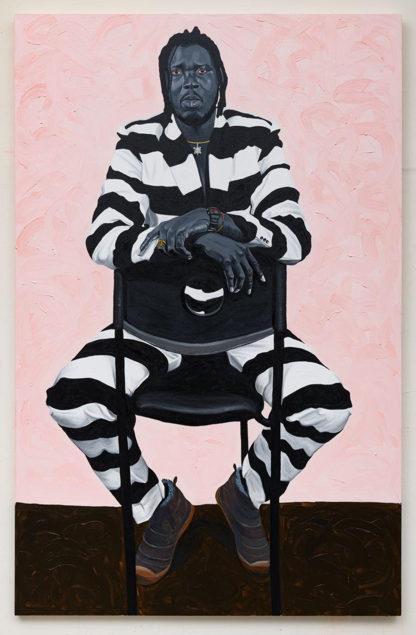 Otis Kwame Kye Quaicoe The Artist II. Kewsi Botchway, 2019. Courtesy of the Artist and Roberts Projects, Los Angeles, California