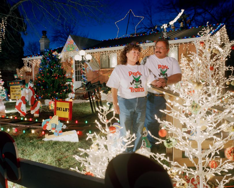 Choo Choo! Terry and Sharon Miller, Westminster, CO. Courtesy of the Danelle Manthey