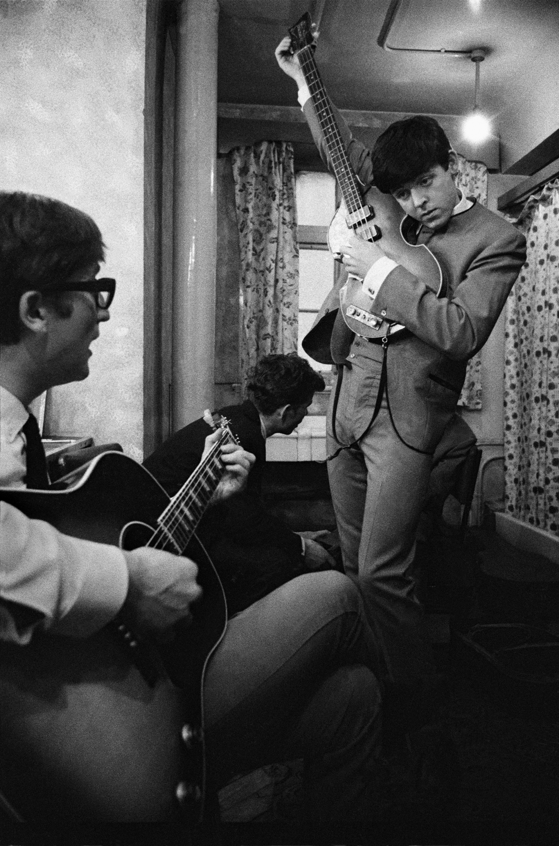 The Beatles, 1963 © Philip Jones Griffiths / Magnum Photos