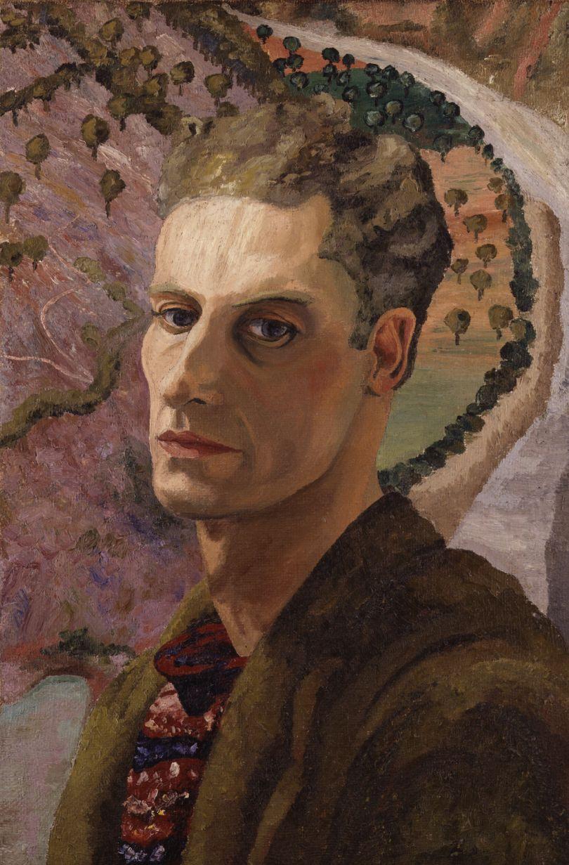Cedric Morris, c.1930 Sir Cedric Morris Oil on canvas © National Portrait Gallery, London 5407 Courtesy the Cedric Morris Estate