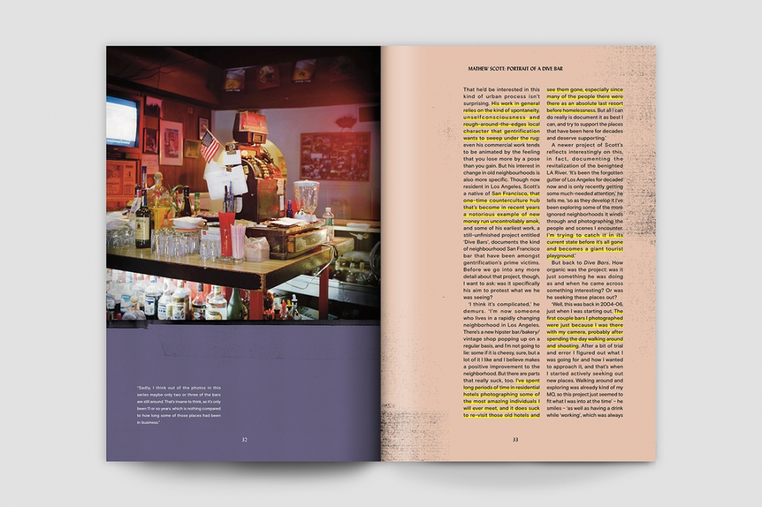 Caña Magazine Issue One: Portrait of a Dive Bar © Mathew Scott