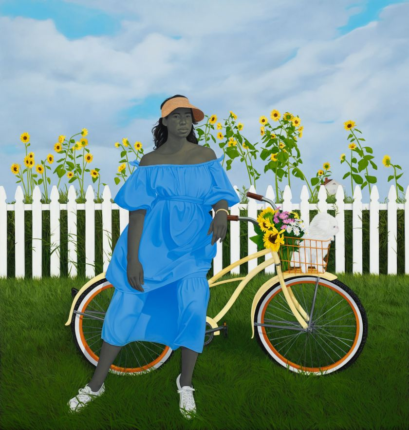 A Midsummer Afternoon Dream – Amy Sherald © Amy Sherald Courtesy the artist and Hauser & Wirth Photo: Joseph Hyde
