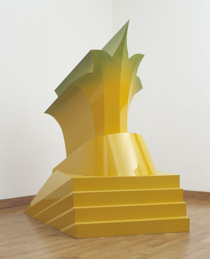 Antony Donaldson,   Hollywood  1968, Fibreglass, Pallant House Gallery,   (donated by the artist throug  h The Mayor Gallery, 2018) © The Artist,   courtesy The Mayor Gallery, London.