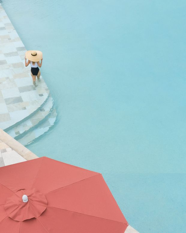 From the series, Pools From Above © Brad Walls