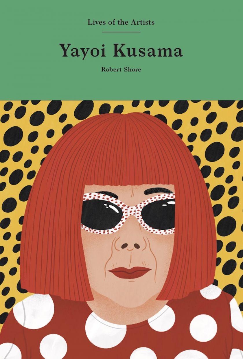 Yayoi Kusama: Lives of Artists, cover