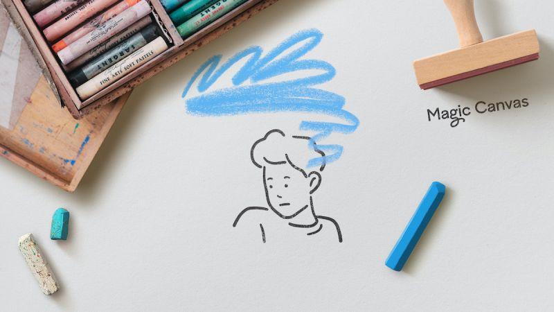 London studio Magpie designs identity for kids' therapy platform, Magic Canvas