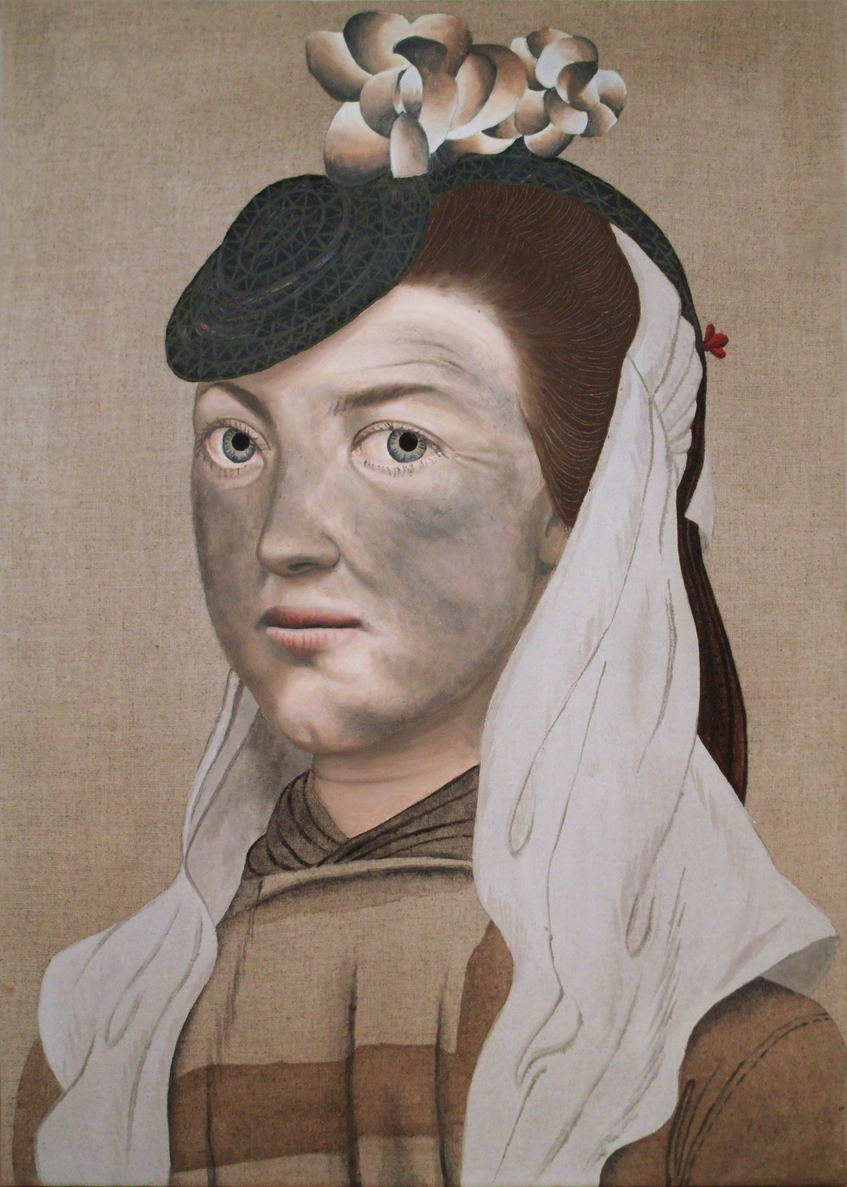 Welsh women and their past, painted by Seren Morgan Jones ...