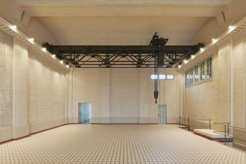 E-WERK Turbine Hall. Courtesy of Ben Westoby