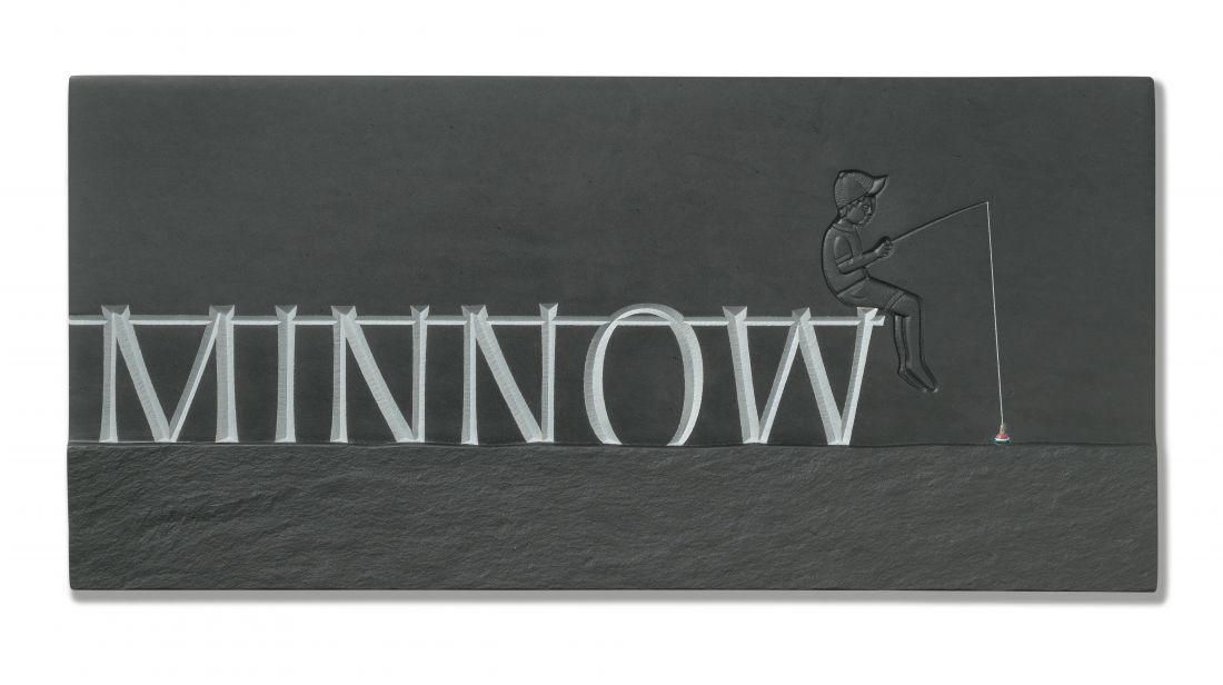 Minnow, by Stuart Buckle