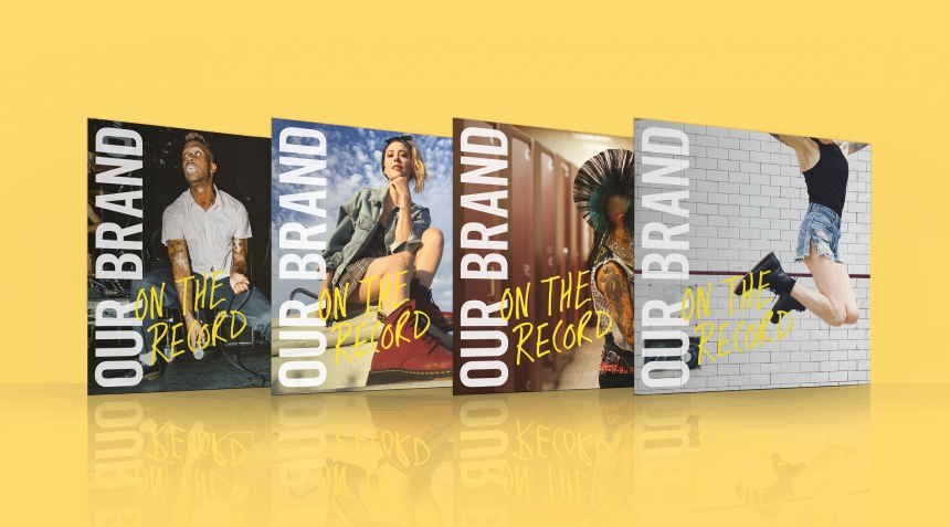 Manchester-based agency creates new music-focused campaign for Dr. Martens