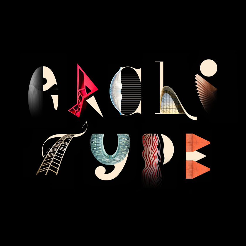 Architype fuses typography and architecture to forge expressive new alphabet