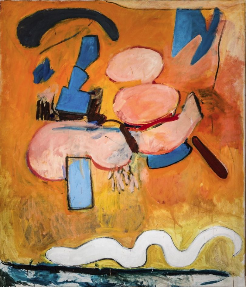 Victor Willing, Untitled, 1961, oil on canvas © The Artist's Estate
