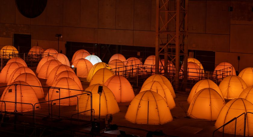Arcadia installation by Deborah Warner at The Factory for MIF21. Photography by Andrew Brooks