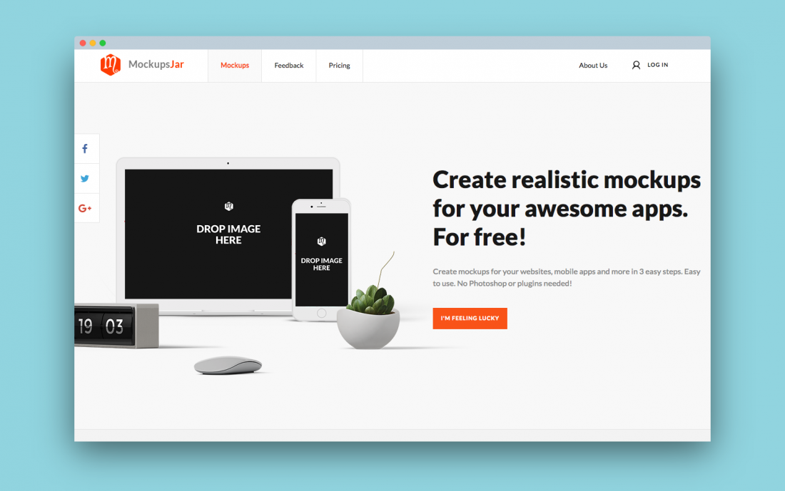 10 online tools to help you make quick mockup images of websites on