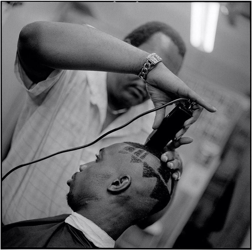 Pattern Cut, House's Barber Shop © Jeffrey Henson Scales