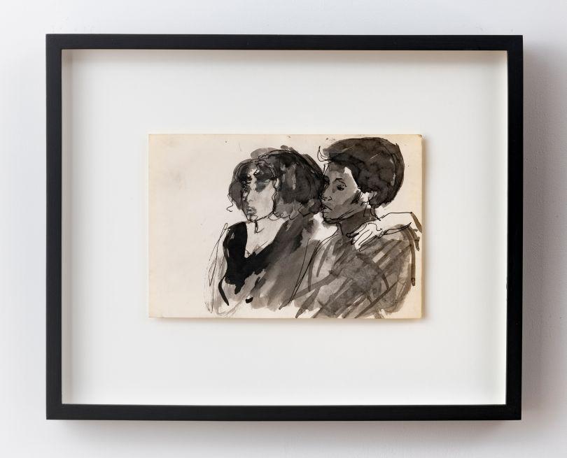 Untitled (Katrina and Friend), ca. 1983–85 © Darrel Ellis. Courtesy of Candice Madey, New York