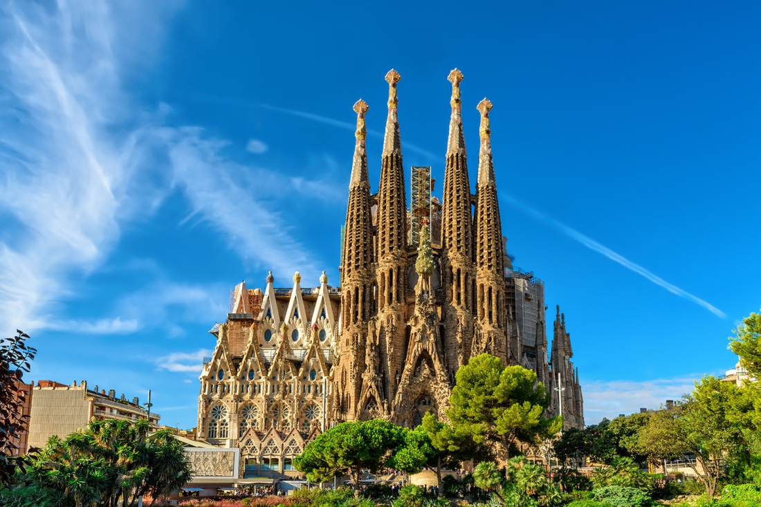 Sagrada Familia, Barcelona | Image courtesy of [Adobe Stock](https://stock.adobe.com/uk/?as_channel=email&as_campclass=brand&as_campaign=creativeboom-UK&as_source=adobe&as_camptype=acquisition&as_content=stock-FMF-banner)