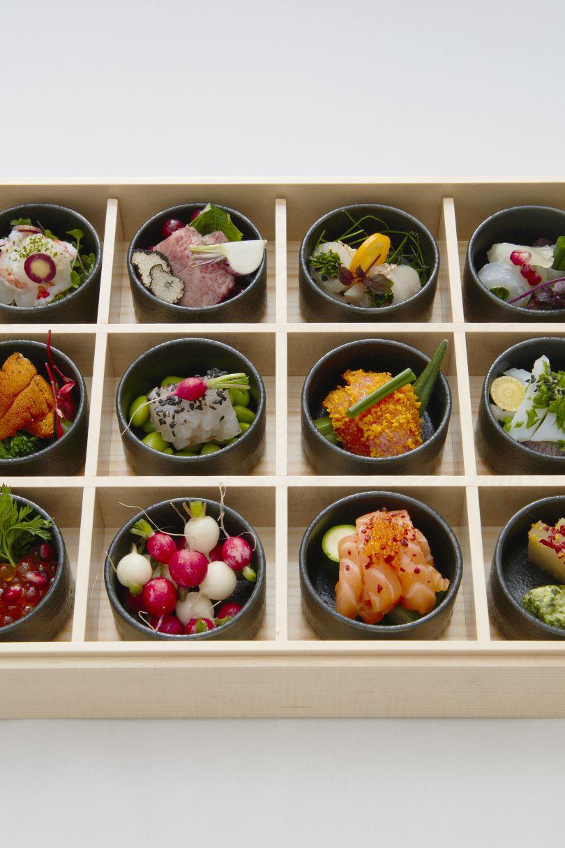 Sashimi Assortment at Japan House London's restaurant