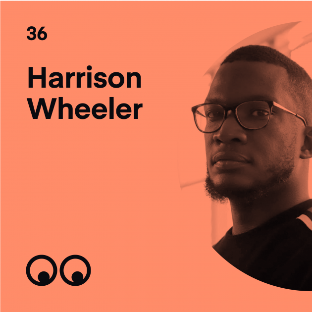 Creative Boom Podcast Episode #36 - Harrison Wheeler on the power of social media and why designers must not stay silent