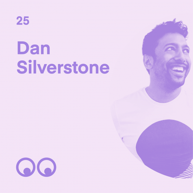 Creative Boom Podcast Episode #25 - Dan Silverstone on growing up in Birmingham, finding a more creative path, and his passion for gaming